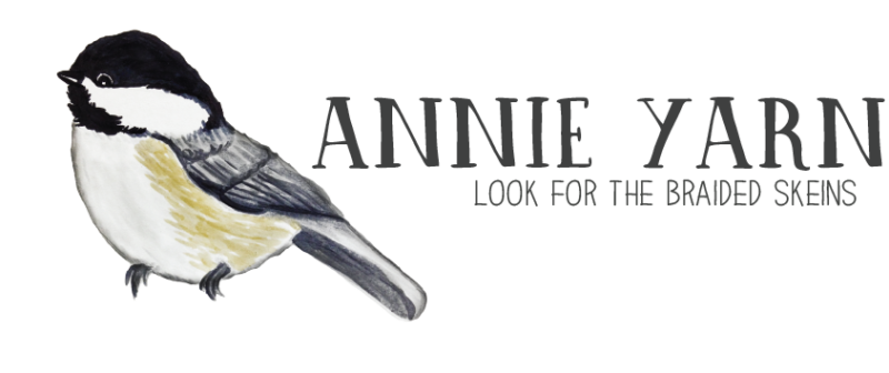 annie yarn - look for the braided skeins